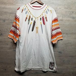Vintage Akademiks Tribal T Shirt. Brand New! Soft!